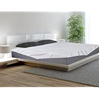 SLEEPLACE 10 inch Ultra Comfort-03 Multi Layer Memory Foam Mattress (QUEEN)