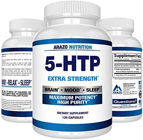 Vitamins & Supplements: Arazo Nutrition 5-HTP