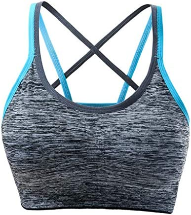 3pcs Womens Summer Sports Yoga Bra Tops, Removable Padded Intimate Lingerie Bralette Workout Running Activewear – The Super Cheap