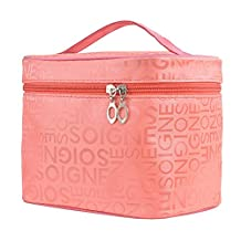 PU Cosmetic Pouch Toiletry Makeup Bag Travel Accessory Organizer Watermelon Red