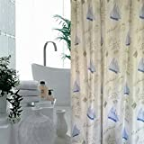 CLG-FLY American fresh and elegant bathroom shower curtain shower curtain curtains,180cm wide and -200cm high