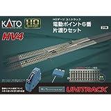 Kato USA Model Train Products HV4 UNITRACK Interchange Track Set with #6 Electric Turnouts