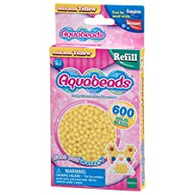 Aquabeads AB32528 Solid Beads Refill Pack, Yellow