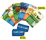 Skillmatics Guess in 10 Animal Planet - Card Game