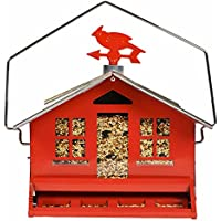 Perky-Pet Squirrel Be Gone II Country House Bird Feeder...