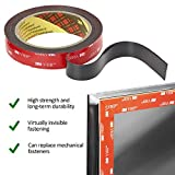 CANOPUS Double Sided Tape Heavy Duty: Mounting