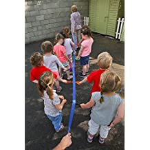 Walk''n''Line Toddler Walking Rope/Leash For 12 Children With Shoulder / Waist Carry Bag. The ideal Walking Line For Preschool,Daycare, Perfect for Fire Drills - Keep Your Children safe !