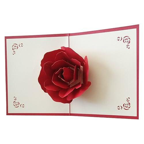 Valentine S Pop Up Card Amazon Co Uk