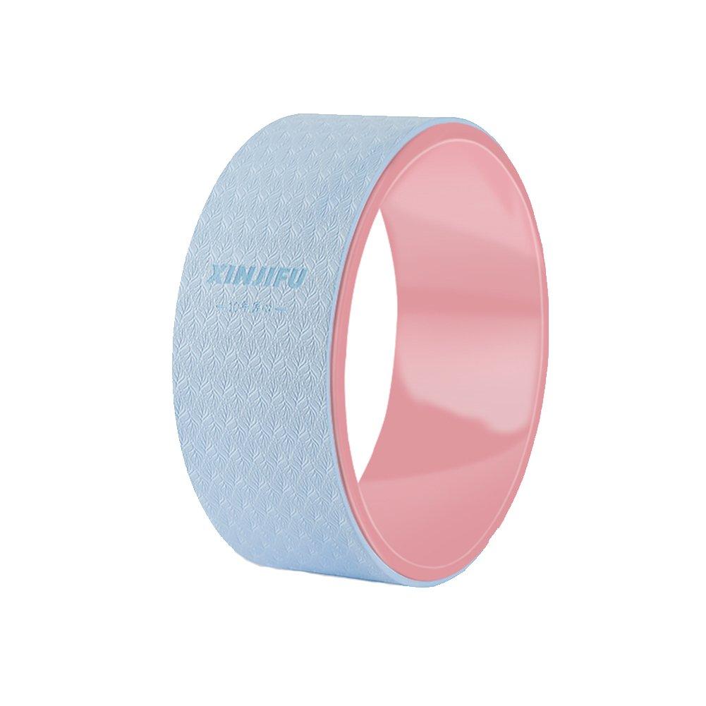 Zatiz Yoga Rad Dharma Yoga Pose Rad Pilates Ring Verbessert Flexibilität, Spannungen zu lösen Dehnen Perfekt Roller