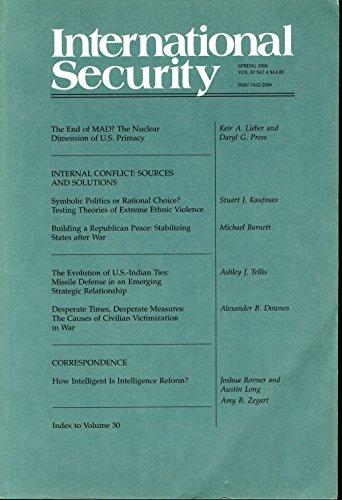 International Security (academic journal) - Spring 2006, Volume 30, number - How International Long Is Shipping