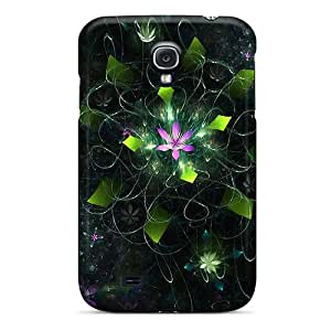 New Dsorothymkuz Super Strong Fractal Pond Tpu Case Cover For Galaxy S4