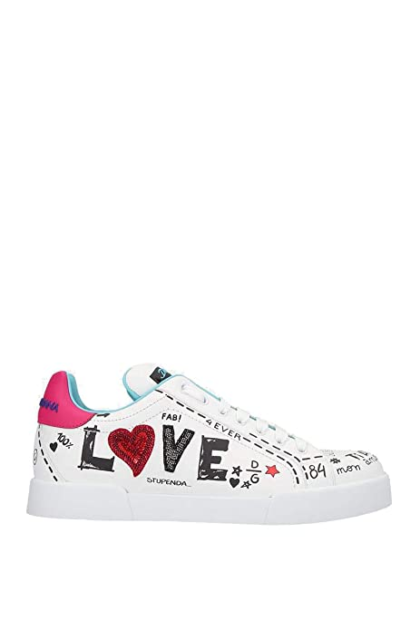 Dolce E Gabbana - Zapatillas para Mujer Blanco IT - Marke Größe, Color, Talla 35.5 EU: Amazon.es: Zapatos y complementos