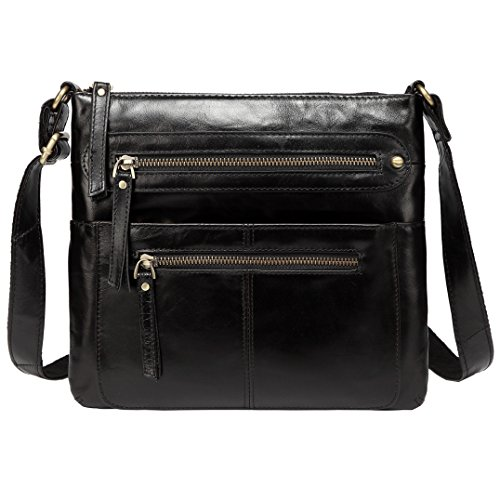 Messenger Travel Purse Bags Men Leather Crossbody Designer Jair Bag Black for wqXBztR7Rn