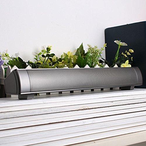 Barra de sonido Altavoz de diente azul, barra de sonido Altavoces de TV Barras de sonido envolvente inalámbricas portátiles...