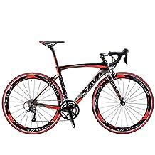SAVADECK 700C Carbon Fiber Road Bike SHIMANO 5800 22-Speed Derailleur System