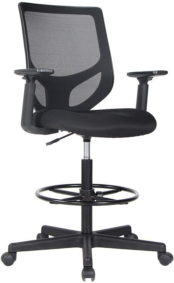 Drafting Chair Tall Office Chair for Standing Desk ...