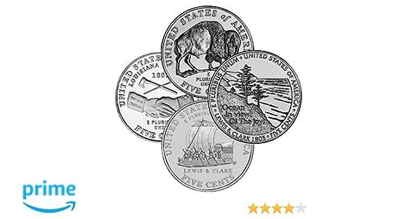 2004 Jefferson Nickel Denver Philadelphia Uncirculated Lewis Clark Peace Medal