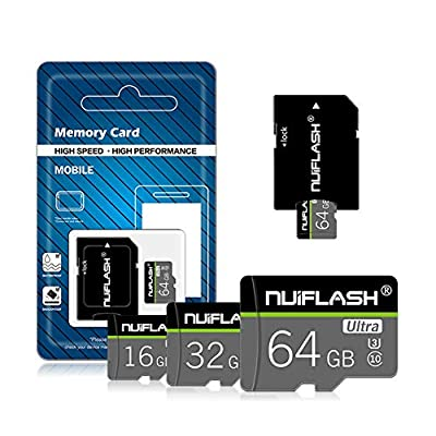Sophia Memory Card, High Speed Driving Recorder TF (Micro SD) Class10 Mobile Phone 64Gb Memory Card: Sports & Outdoors