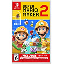 Super Mario Maker 2 + Nintendo Switch Online Bundle - Special Edition Bundle Edition