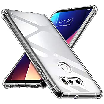 Amazon.com: Ringke Fusion Compatible with LG V35 ThinQ Case ...