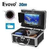 Eyoyo 30M/98ft 7''LCD 1000TVL Infrared Fish Finder IR Boat Fishing Cam 32GB DVR Recorder Camera