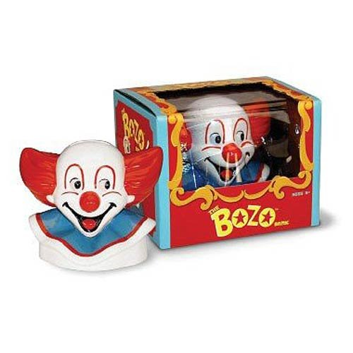 Warm Fuzzy Toys Bozo The Clown Ceramic Savings Bank