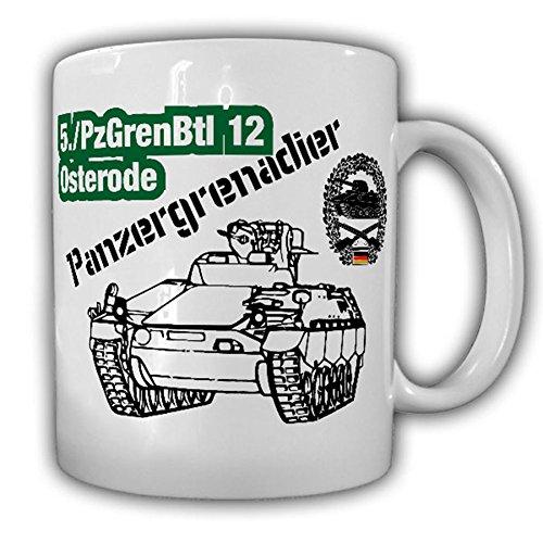 5 PzGrenBtl 12 Osterode tank grenadier battalion company army unit SPZ Marder - Coffee Cup Mug