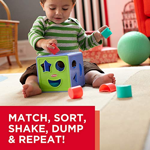 51z 0pTVr0L - Playskool Form Fitter, Shape Sorter, Ages 18 Months & Up (Amazon Exclusive)