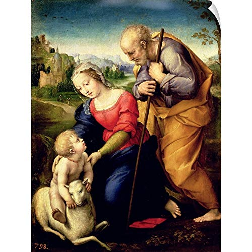 CANVAS ON DEMAND The Holy Family with a Lamb, 1507