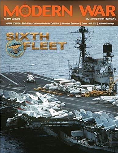 (DG: Modern War Magazine #41, with Sixth Fleet Boardgame)