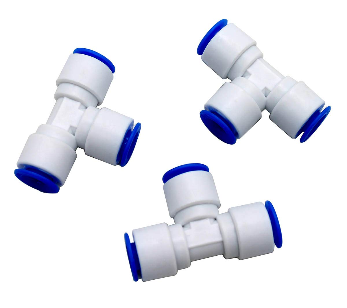 30 PCS Quick Connect Water Tube Fitting Push in to Connect Fitting for 1//4 in OD Water Tube