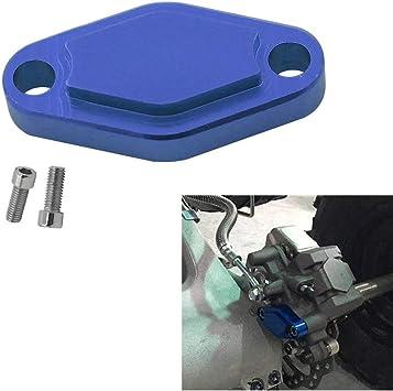 Alpha Rider CNC ATV Placa de Freno de estacionamiento para Raptor 125 250 350 660 700 YFZ450/450R/X Warrior 350 Banshee 350 TRX 450R/400EX/300EX LTZ ...