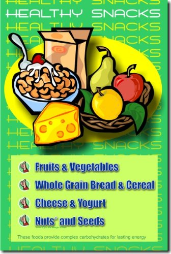 Amazon.com: Healthy Snacks - Classroom Health Poster: Office Products