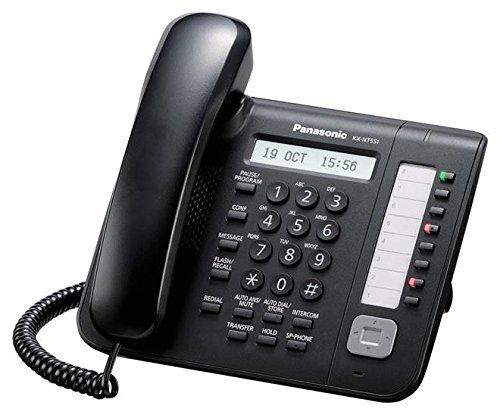 Price comparison product image Panasonic KX-NT551-B IP Phone (Certified Refurbished)