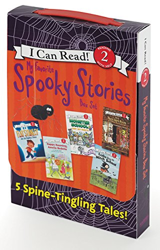 Books : My Favorite Spooky Stories Box Set: 5 Silly, Not-Too-Scary Tales! (I Can Read Level 2)