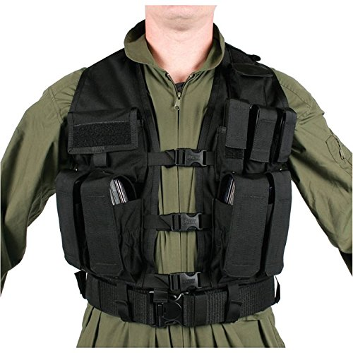 (BLACKHAWK! Urban Assault Vest - Black)