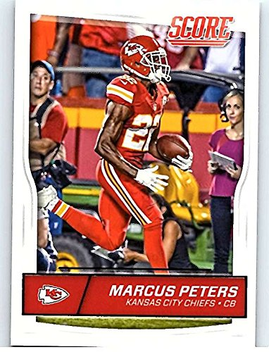 Football NFL 2016 Score #168 Marcus Peters Chiefs