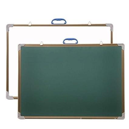 Pizarra de doble cara para niños en casa enseñanza colgante ...