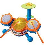 #4: VTech KidiBeats Kids Drum Set