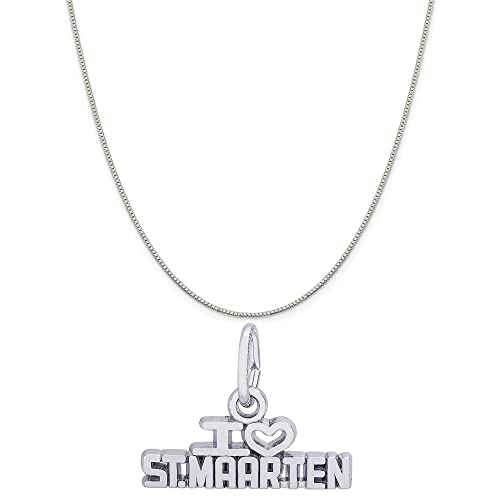 Length 20 in, Jay Seiler Stainless Steel Brushed and Polished w//CZ Necklace