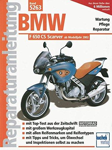 BMW F 650 CS Scarver (Reparaturanleitungen)