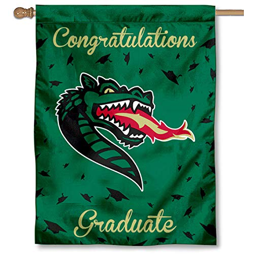 Uab Blazers Logo - College Flags and Banners Co. UAB Blazers Graduation Gift Banner Flag