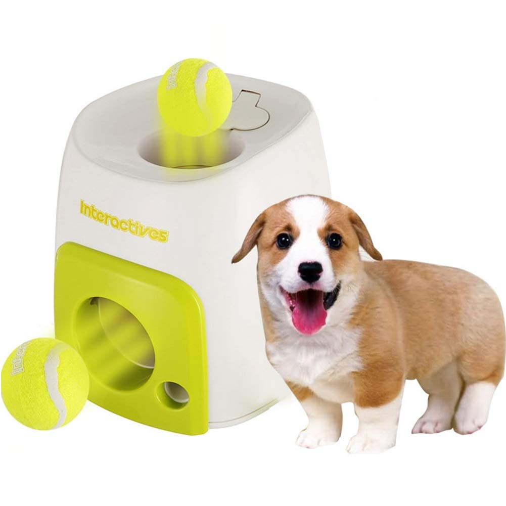 MOOUK Lanzador automático de Pelotas de Perro, Lanzador de Pelotas ...