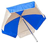 Cheap LIFEGUARD UMBRELLA – WEATHER DURABLE – ROYAL BLUE AND WHITE