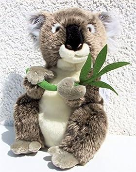 Koala con eucalipto-rama * 31 cm * Diseño de koala de peluche Koala de