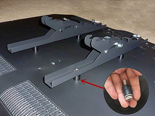 M8 Screws for Samsung TV M8x45mm TV Mounting Bolts Screws for Samsung TV with 25mm Long Spacers