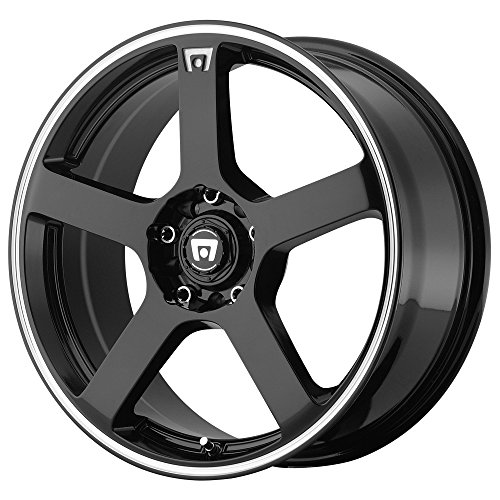 Motegi Racing MR116 Wheel with Gloss Black Finish (16x7''/5x4.5'') by Motegi Racing
