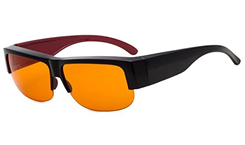 1bee646405 Amazon.com  Eyekepper 100% Anti-Blue Light Blocking Computer Glasses ...
