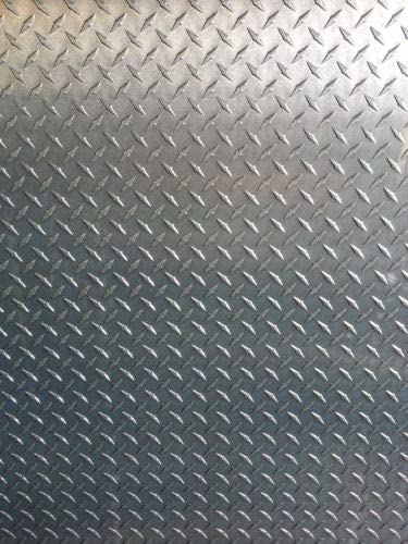 "1//4/"" Aluminum Diamond Tread Plate 6061 T6-12/"" x 12/"""