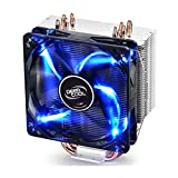 DEEPCOOL GAMMAXX 400 CPU Cooler 4 Heatpipes 120mm PWM Fan Blue LED INTEL/AMD AM4 Compatible